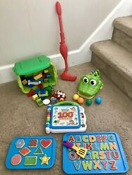 Lot Of Toys Legos Leap Frog Learning Resources Gator Golf Babies Kids Toddlers