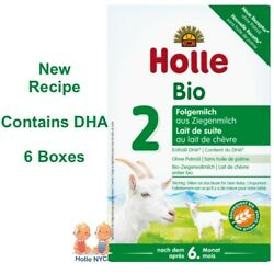Holle Goat Milk Stage 2 Organic Formula With Dha 6 Boxes 400g Free Shipping
