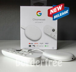 Chromecast With Google Tv - Streaming Entertainment In 4k Hdr - Snow