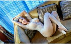 Asian Nude Model Woman Busty Breasts Girl Hot Female Photo Picture Legs Print F7