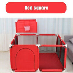 Safety Baby Playpen Play Yard Kids Activity Center Toddler Folding Out/indoor