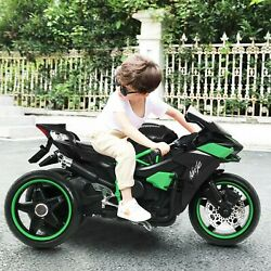3 Wheel Kids Ride On Motorcycle 12v Battery Powered Electric Toy Power Bicycle