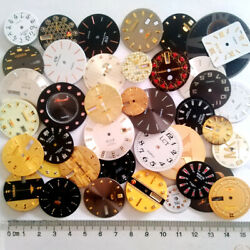 40pcs Lot Of Steampunk Watch Faces Dials Parts For Jewelry Making Industrial Art