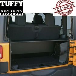 Tuffy Security Products Tailgate Enclosure For 2011-2018 Jeep Wrangler Jk 2 Door