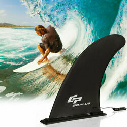 Goplus Surf & Sup Single Fin Detachable Center Fin For Longboard Surfboard