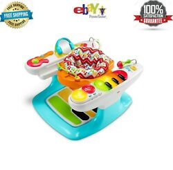 Fisher-price 4-in-1 Step 'n Play Piano With Lights & Sounds - New Us, Fast Deli