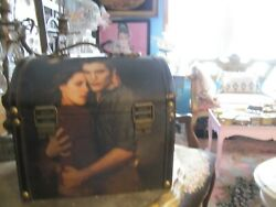 Twilight Wooden Jewelry Box Carrying Case Treasure Chest