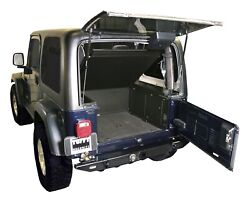 Tuffy Security Products 240-01 Tuffy Security Deck Enclosure Fits Tj Wrangler