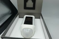 Ring Spotlight Cam Security Camera White Wired