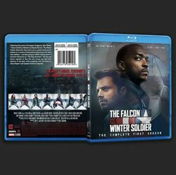 The Falcon And The Winter Soldier: Complete Season One Custom Blu-ray Artwork