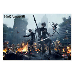 Nier Automata Poster - Promotional Art - High Quality Prints
