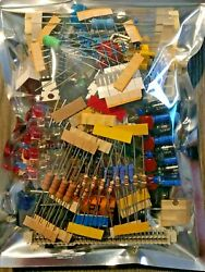 Tinker Lot Of Electronic Components New Parts Great Diy Stocking Stuffer Gift
