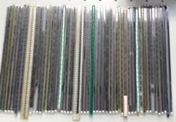 Massive Job Lot Joblot Of Electronic Components 54 Tubes Over 1000 Ic's !!!!