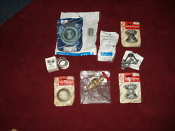 Lot Of 10 Items--industrial Parts,valve,bearing,coupler Assembly