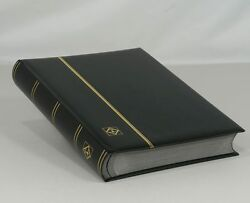 Lighthouse Leatherette Stockbook Comfort S64  Black (lsp4/32) - Free Shipping