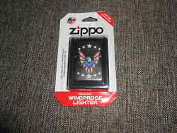 Zippo Windproof Lighter Flag As Eagle #207 - New In Package!