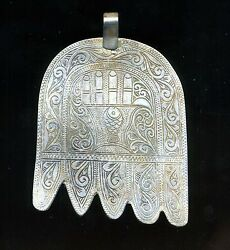 Morocco – Large Silver Hand Of Fatima
