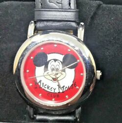 Disney Rare Mickey Mouse Club Watch 40th Anniversary Limited Edition Of 500 ~new