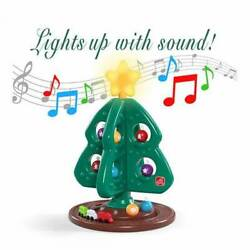 Step 2 My First Christmas Tree Christmas Tree Lights And Sounds Ornaments Train