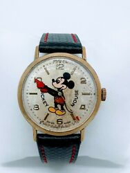 Vintage Mickey Mouse 50th Anniversary Watch