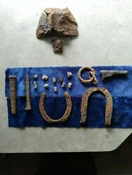 Iron Warfare1849 Baby Colt  Bullets Etc.  Dragonop Relics Dug Indian Territory.