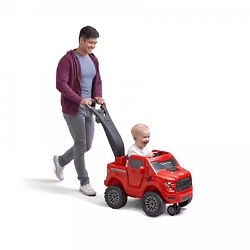 Step2 2-in-1 Ford F150 Raptor Ride-on Push-truck Child Kids Cruising Vehicle