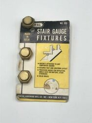 General Hardware Stair Guage Fixtures Used 3 Pieces