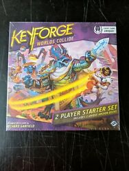 Keyforge World's Collide Game Factory Sealed 2 Player Starter Set New In Box