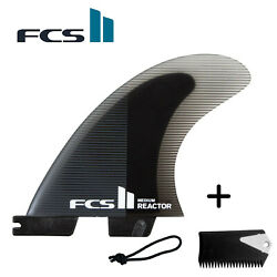 Fcs Ii Reactor Pc Tri Fins Medium + Free Leach String & Wax Comb