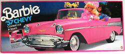 Barbie 57 Chevy Pink Convertible Car (new)