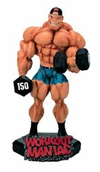 New Workout Maniac Xtreme Figurine Bodybuilding Weightlifting Collectible Statue