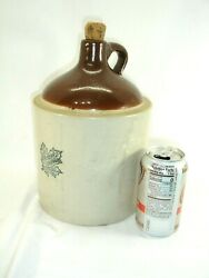 Vintage, Antique Western Stoneware Shoulder Jug, 11 Inches Tall.