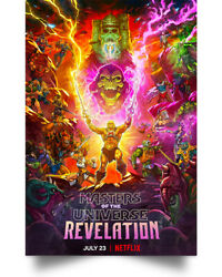 Masters Of The Universe- Revelation Wall Art Decor Home Poster Full Size