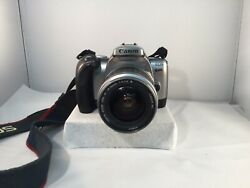 Canon Eos Rebel T2 35mm Slr Camera With Ef 28-90mm F/4-5.6 Iii Lens & Strap