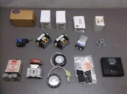 Assorted Electrical Parts From Industrial Plant