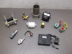 Lot Of 12 Miscellaneous Used Industrial Parts