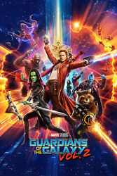 Guardians Of The Galaxy Vol. 2 - Movie Poster (regular Style) (size: 24 X 36
