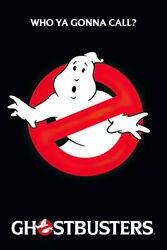 Ghostbusters - Movie Poster (logo / Slimer - Who You Gonna Call?) (24