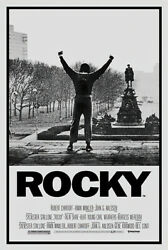 Rocky - Movie Poster (regular) (sylvester Stallone - Victory Pose) (24