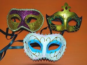 Lot Of 3 Different Halloween Mask, For Halloween Party, Fancy Dress (m-018)