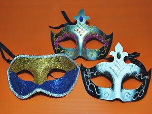 Lot Of 3 Different Halloween Mask, For Halloween Party, Fancy Dress (m-020)