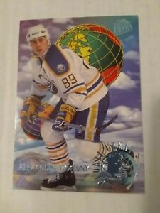 1994-95 Fleer Ultra Global Greats  No.6 [ Alexander Mogilny ] Buffalo Sabers