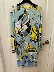 Emilio Pucci Knit Dress, Italian Size 44, New With The Store Tags