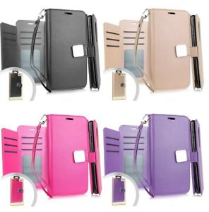 For Samsung Galaxy A10e - Book Style Wallet Phone Case Cover With Card Pockets