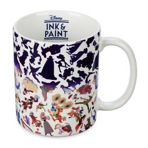 Disney Ink And Paint Color Changing Ceramic Coffee Mug - Splash Mountain On It!