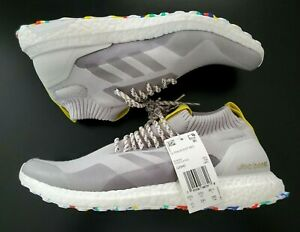 Adidas Ultra Boost Mid 'multicolor White'  Men's Athletic Shoes  G26842  Size 11