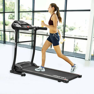 Easy Assembly Folding Electric Treadmill Motorized Running Machine Home Fitness