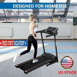 Electric Folding Treadmill Electric Treadmill 3 Exercise Modes 12 Automatic Mode