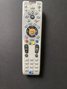 Directv Rc66 Universal Remote Control - Silver. Cleaned And Sterilized!