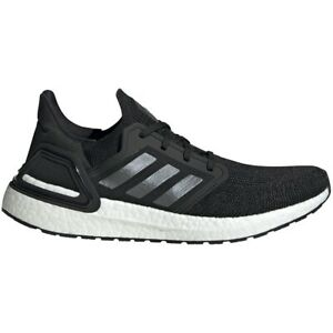 Adidas Men's Ultra Boost 20 Shoes - New In Box - Free Shipping - Black Ef1043 +